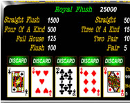 Vizual Asasins video poker kaszin� j�t�kok